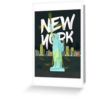 New York, New York! Greeting Card