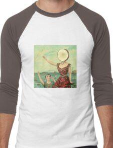Aeroplane Over the Sea Men's Baseball ¾ T-Shirt
