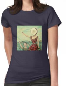 Aeroplane Over the Sea Womens Fitted T-Shirt