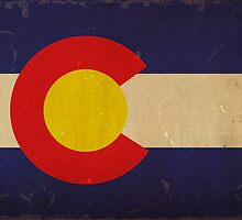 Colorado State Flag VINTAGE by Carolina Swagger