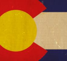 Colorado State Flag VINTAGE Sticker