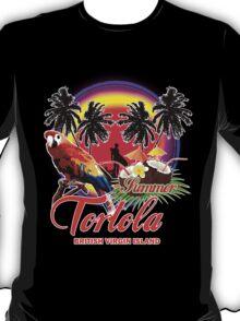 Tortola Fine Summer Beach T-Shirt