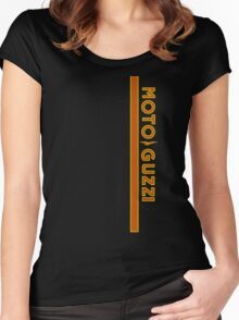 Moto Guzzi Motorcycles Women's Fitted Scoop T-Shirt