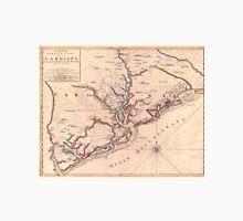 Vintage Map of South Carolina (1690) Unisex T-Shirt