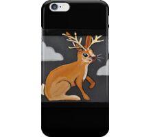 Moody Little Jackalope iPhone Case/Skin