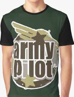 Army Pilot Graphic T-Shirt