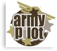 Army Pilot Canvas Print