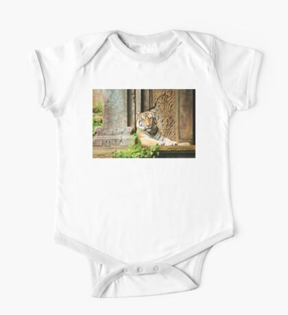 Tiger at Rest One Piece - Short Sleeve