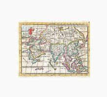 Vintage Map of Asia (1706) Unisex T-Shirt