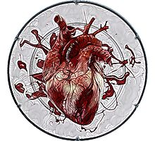 Heart on a Plate Photographic Print