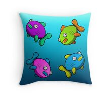 Fishy Fishy Throw Pillow