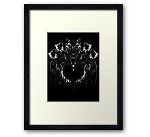 inkblot Framed Print