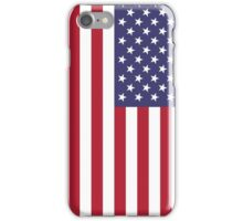 "The national flag of the United States of America -  Authentic 10:19 ""G-spec"" (for ""government specification"" ) Scale and colors iPhone Case/Skin"