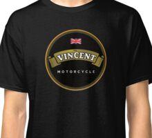Vincent Vintage Motorcycles England Classic T-Shirt