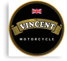 Vincent Vintage Motorcycles England Canvas Print