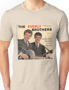 The Everly Brothers 1958 Rockabilly ep cover Unisex T-Shirt