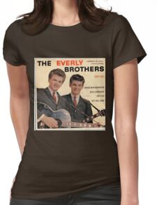 The Everly Brothers 1958 Rockabilly ep cover Womens Fitted T-Shirt