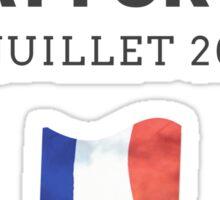 Pray for Nice France Sticker