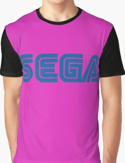 SEGA classic video games logo Graphic T-Shirt