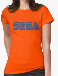 SEGA classic video games logo Womens Fitted T-Shirt