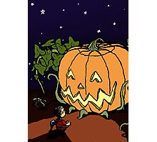 It's the Great Pumpkin! Photographic Print