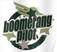 Bommerang Pilot Poster