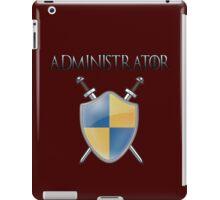 ADMIN iPad Case/Skin