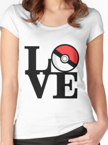 PokéLove Women's Fitted Scoop T-Shirt
