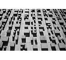 Brasilia Blocks Photographic Print
