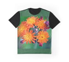 Devil's Paintbrush - Pilosella aurantiaca Graphic T-Shirt
