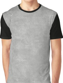 Silver Oil Pastel Color Accent Graphic T-Shirt
