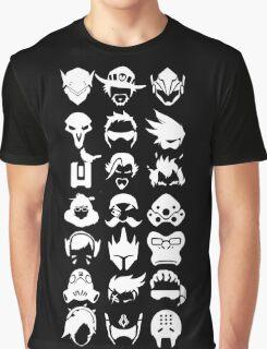Heros - Black Graphic T-Shirt