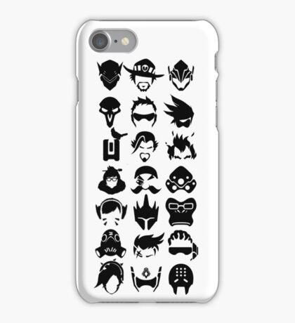 Heroes - White iPhone Case/Skin