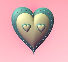 Tar Heel Valentine by barrowda