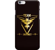 Pokemon Go - Team Instinct - Yelow & Gold T- shirt iPhone Case/Skin