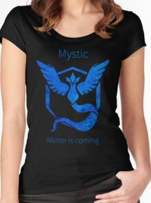 Pokemon GO - Winter Is Coming Women's Fitted Scoop T-Shirt