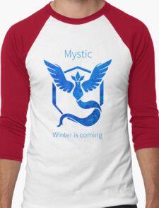 Pokemon GO - Winter Is Coming Men's Baseball ¾ T-Shirt