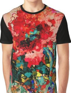 Oriental Poppy Graphic T-Shirt