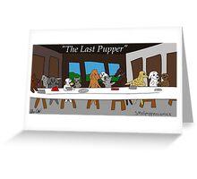 The Last Pupper:  A Smol Pupper Comic Greeting Card