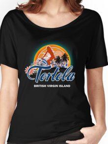 Tortola Caribbean Sea Women's Relaxed Fit T-Shirt