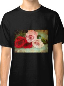 A painting of a bunch of Roses Classic T-Shirt