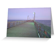 Walk with me to the sea Greeting Card