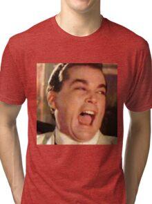 A Beautiful Portrait of Ray Liota Tri-blend T-Shirt