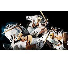 Three warriors Photographic Print
