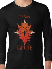 Team Ignite - Black Long Sleeve T-Shirt
