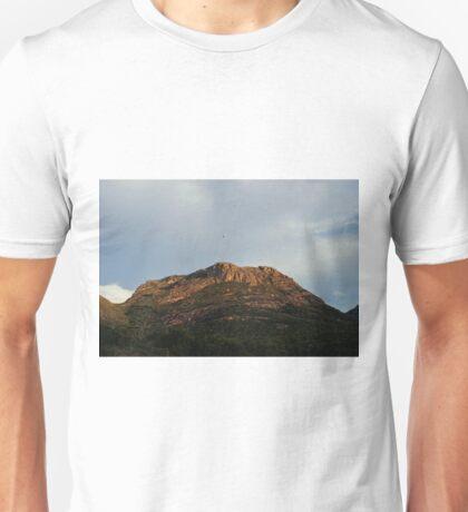 Bird Flying over Hazards Unisex T-Shirt