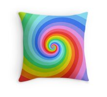 The Color of Now Throw Pillow