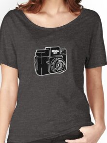Drawing of Holga Camera Women's Relaxed Fit T-Shirt