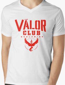 Valor Club - Team Valor Mens V-Neck T-Shirt