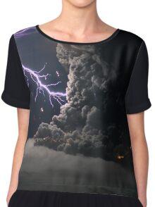 Cat Lightning  Chiffon Top